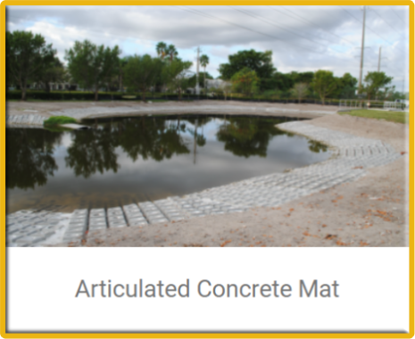 erosion restoration,articulated concrete mat