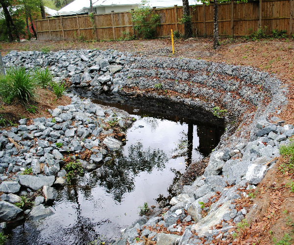 Beville Creek Restoration, Gainesville, FL